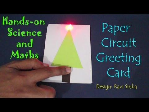 Paper Circuit Greeting   English