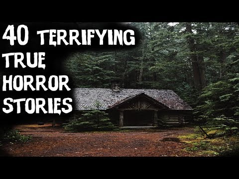 40 Terrifying TRUE Horror Stories From Reddit! (ULTIMATE COMPILATION)