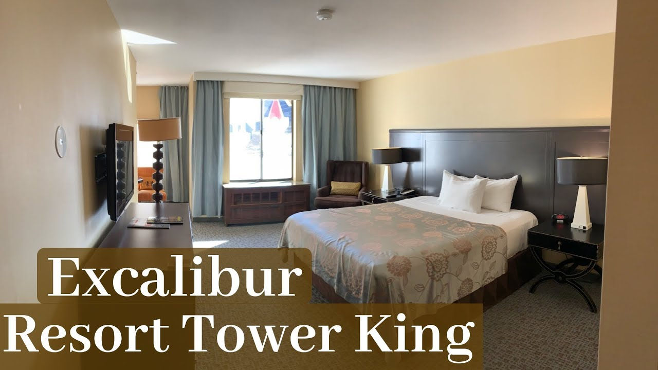 Excalibur Las Vegas Resort Tower King Room Youtube