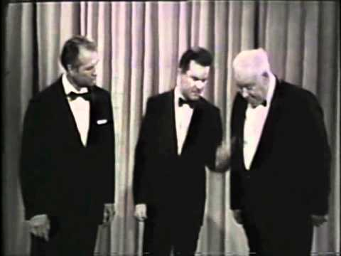 Bob Crane and John Banner on The Red Skelton Hour  1967