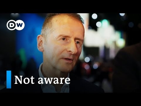Volkswagen CEO Diess 'not aware' of China's Uighur camps | DW News