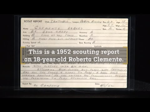 Roberto Clementes 1952 Scouting Report – Stories from Inside the Hall of Fame