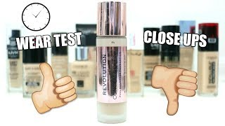 Makeup Revolution Conceal & Define Foundation || Review & Wear Test || Best Drugstore Foundation