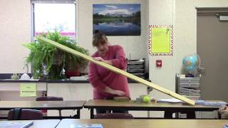 8th Grade Science lab - Angular Momentum - Voss (Part 1)