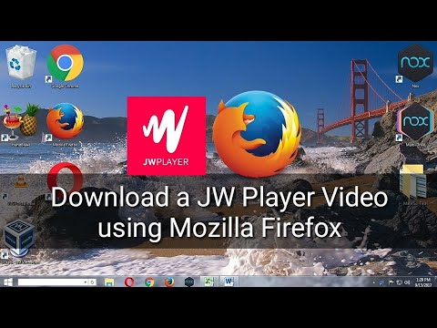 How To Download JW Player Videos using Mozilla Firefox