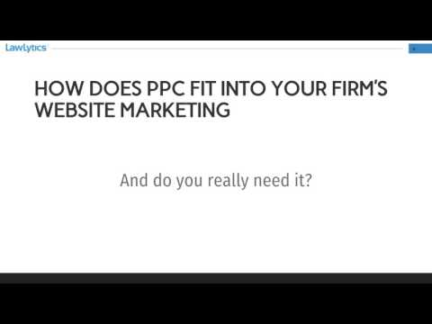 PPC For Lawyers: Learn the truth about pay per click marketing for law firms