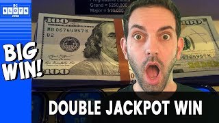 ✌️ DOUBLE Jackpot Win!!! 💰 BIG WIN @ Hard Rock AC ✪ BCSlots