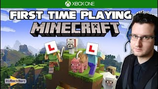 Minecraft - First Tİme Playing   Xbox One Game Pass