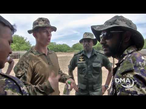 Amy Forsythe reports from Sri Lankan for Navy exercise