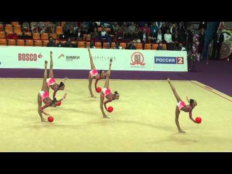 Junior Team Russia, 5 мячей. Grand Prix, 2015, Final, Moscow.