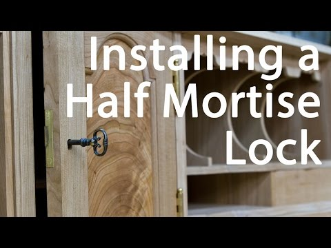 How to Install a Half Mortise Lock