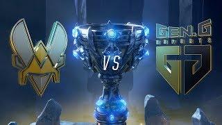 VIT vs GEN | Worlds Group Stage Day 5 | Team Vitality vs Gen.G Esports (2018)