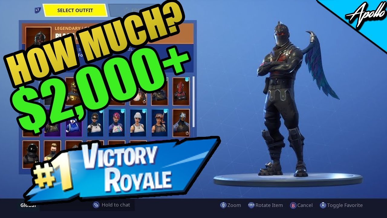 My Fortnite Account Is Worth HOW MUCH?!?! - Fortnite ...