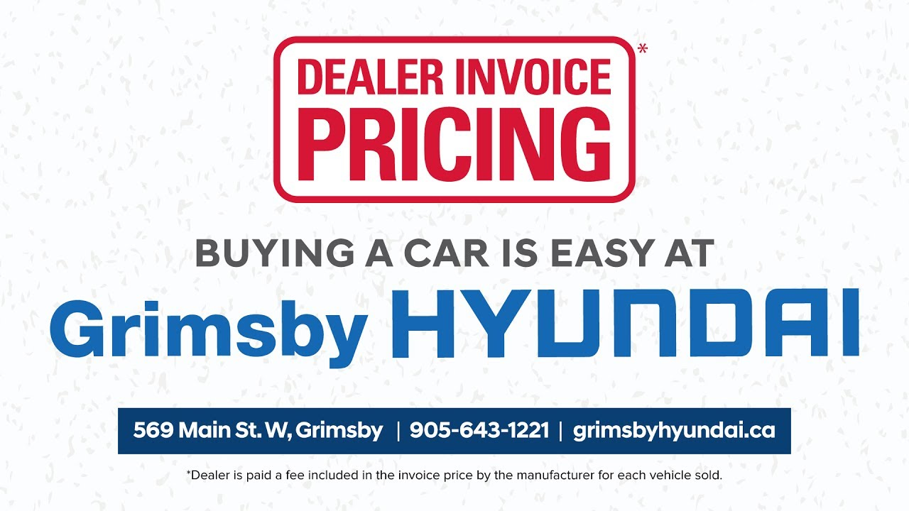 Dealer Invoice Pricing At Grimsby Hyundai YouTube - Acura mdx dealer invoice