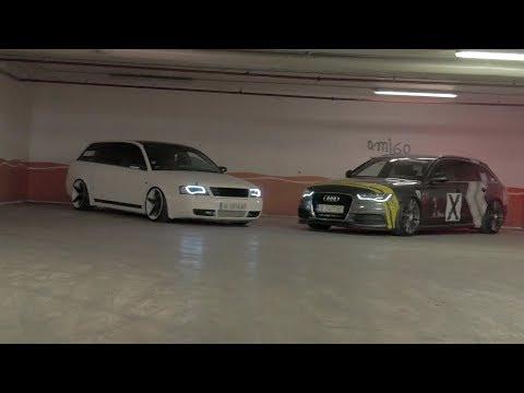 StanceWorks Bulgaria - Audi A6 - C5 & C7 Avant  on O.Z. and Vossen Wheels (Lumix G7, 2017)
