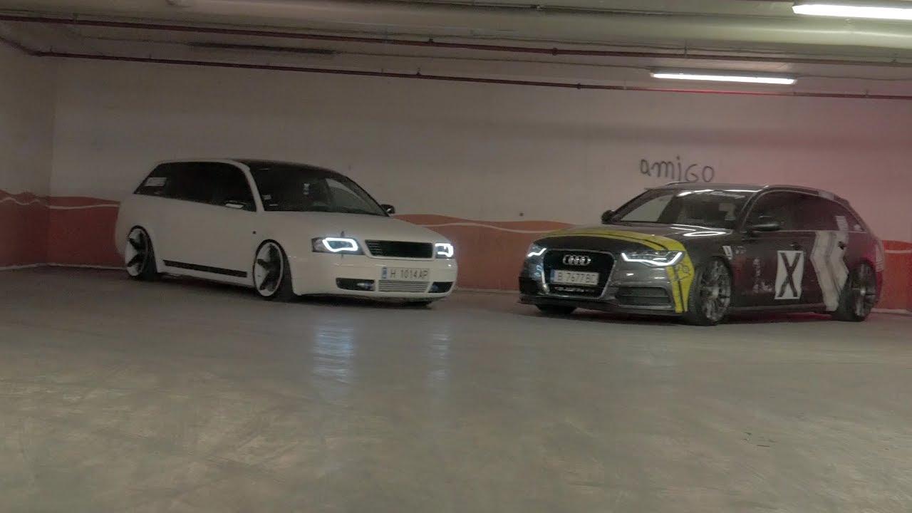 StanceWorks Bulgaria - Audi A6 - C5 & C7 Avant on O.Z. and Vossen Wheels (Lumix G7, 2017) - YouTube