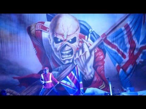 Iron Maiden @ The Battle Of San Bernardino - San Manuel Amphitheater  9/13/2013  (Full Concert)