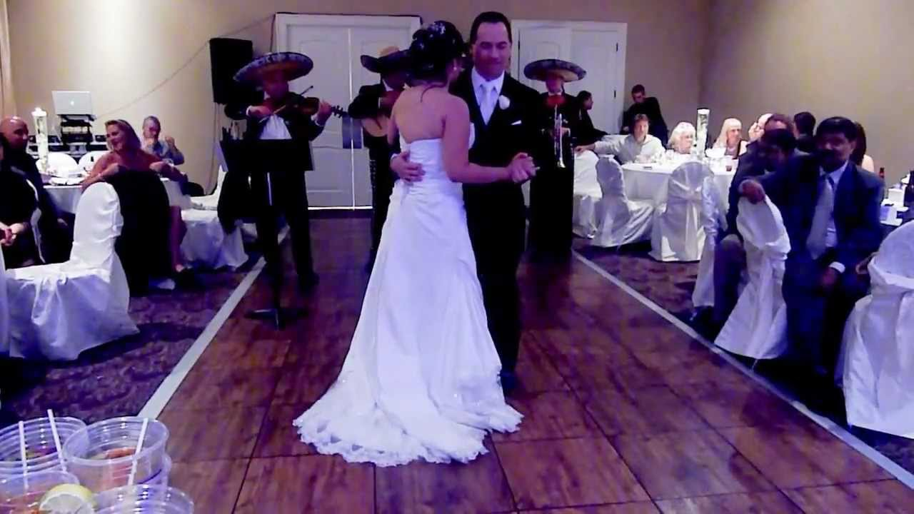 mariachi band at wedding 120811-10 - YouTube