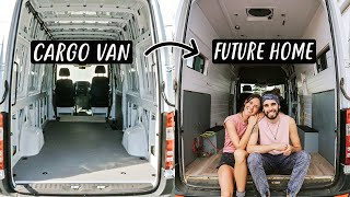 Starting to Look Like a TINY HOUSE (van life build)