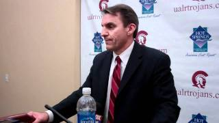 UALR MBB Head Coach Steve Shields Recaps 78-64 Victory Over FIU
