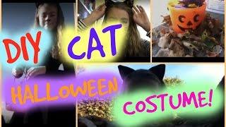 DIY cat halloween costume! Thumbnail