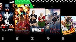 Este es el top 5 de las películas que lideran la taquilla de la Pantalla Grande venezolana