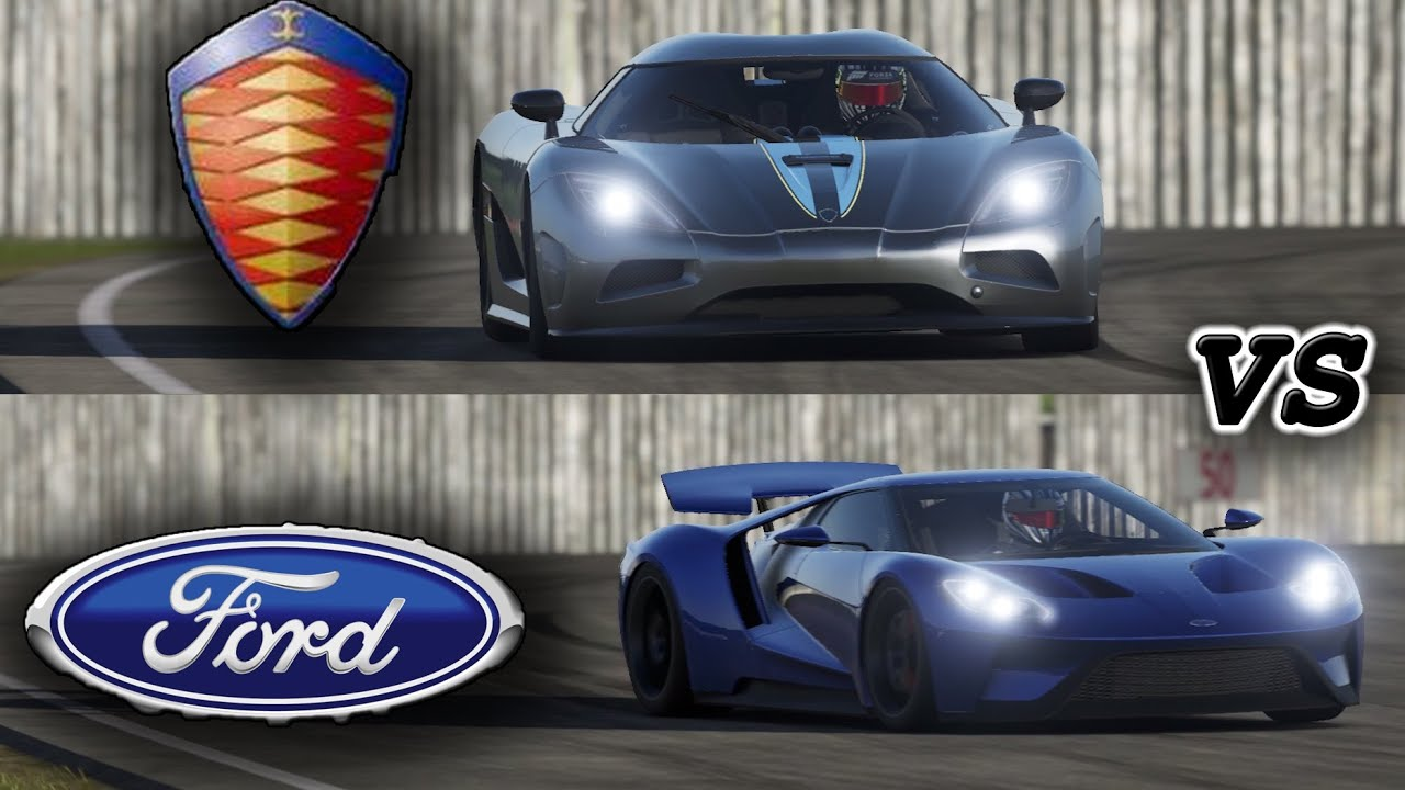 Ccx Car Wallpaper 2017 Ford Gt Vs Koenigsig Agera R On Top Gear Track