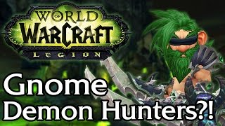 Should other races be Demon Hunters? [WoW Discussion]