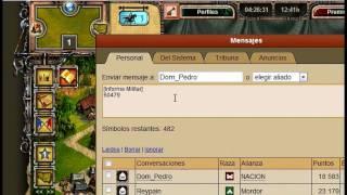 Como compartir informes militares en Imperia Online v5