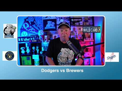 Los Angeles Dodgers vs Milwaukee Brewers Free Pick 10/1/20 NL Wildcard Game 2 Pick & Prediction (skip to 50s)