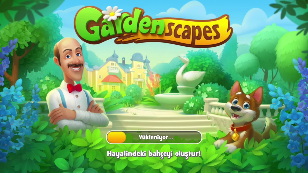 Android Oyun Club GardenScapes Oyunu Hilesi Yüklenmesi Çok Kolay.