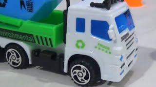 garbage truck city clean car jcb working toys video