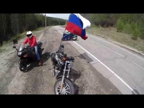 Открытие мотосезона Усть Кут 16 05 2015