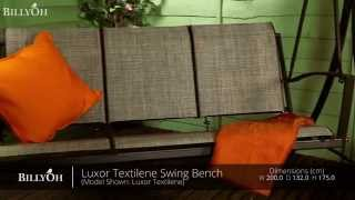 Billyoh Luxor Textilene Swing Bench