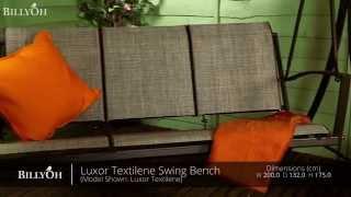 Billyoh Luxor Textilene Swing Bench