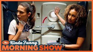Stinky Man Lands Plane - The Kinda Funny Morning Show 06.01.18