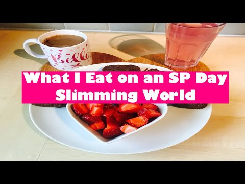 SLIMMING WORLD WHAT I EAT IN A DAY - SP DAY