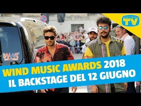 Wind Music Awards 2018 - Backstage 12 giugno