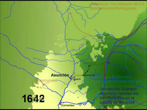 Una historia geográfica del Paraguay // A geographic history of the colonization of Paraguay