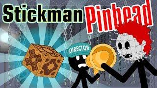 Stickman mentalist. Scary Movie. Pinhead