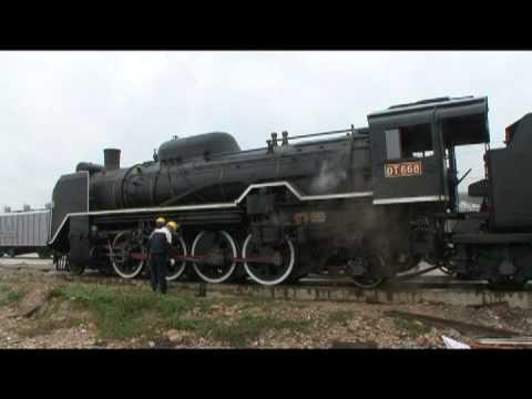 臺鐵 大肚車站 DT668蒸汽機車 驗收試車紀錄 01
