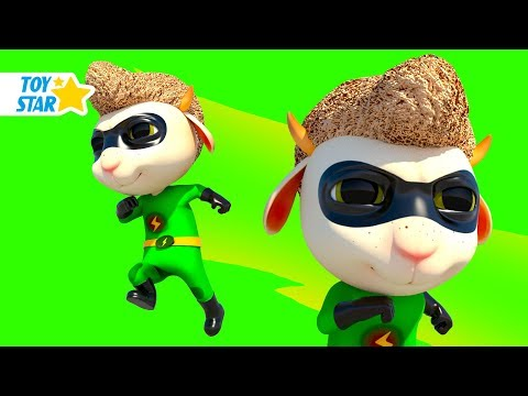 New 3D Cartoon For Kids ¦ Dolly And Friends ¦ Babies Super Hero In Real Life #87