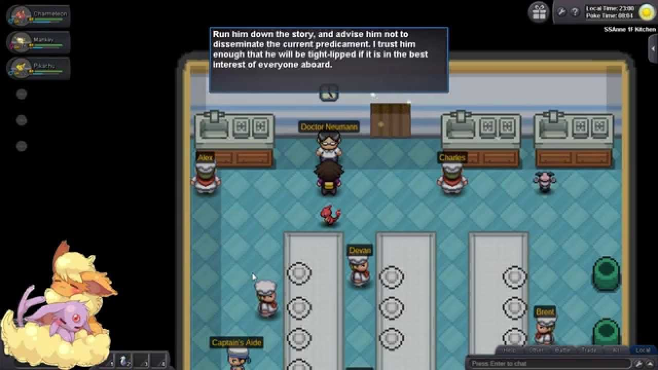 Pokemon Revolution Online Ss Anne Solved Leftovers Youtube