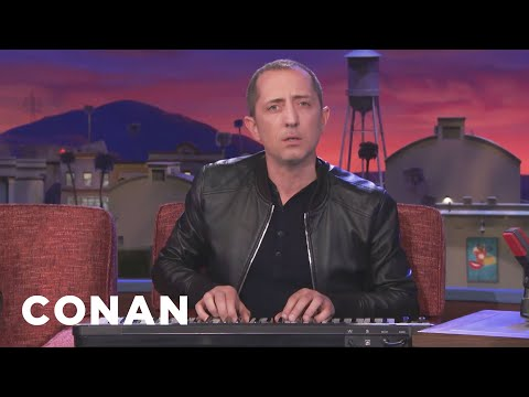 Gad Elmaleh Sings A Song In Made-Up English  - CONAN on TBS