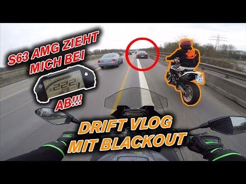 Mercedes S63 AMG zieht mich bei über 220 KM/H AB! - Drift Dual Vlog mit Blackout