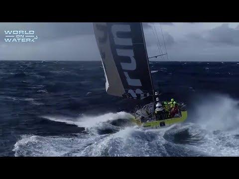 Volvo Ocean Race Leg 7 Report 4 March 30 18 Fleet at Cape Horn