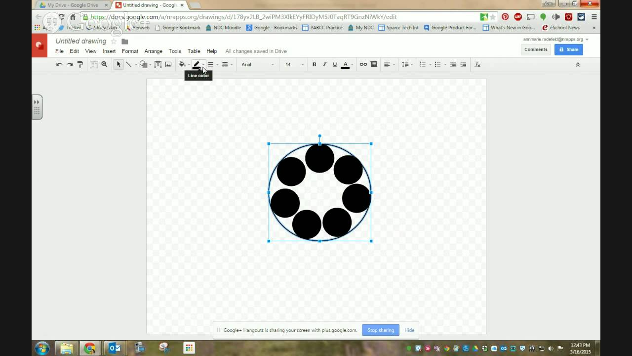 how to create a puzzle using google drawing