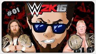 Lets Play WWE 2k16 Deutsch Part 1 German Gameplay 1080p 60fps ツ Alles wird besser?