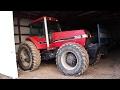 Old Start Case IH 7140 Magnum 1988 Tractor!