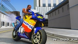 Honda Repsol Rossi - GTA San Andreas 1440p / 2,7K